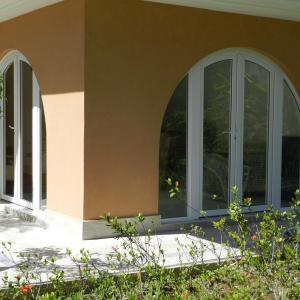 Porta pvc vidro duplo